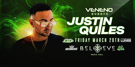 Justin Quiles | Believe Music Hall | Friday March 20 tickets
