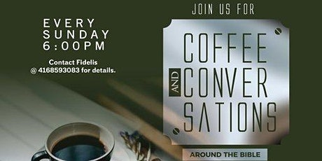 Coffee and Conversations around the Bible tickets