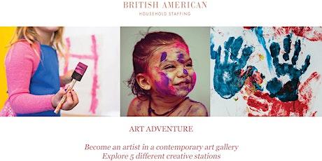 Free Kids Art Adventure tickets