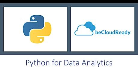 Data Analytics in Python: Scipy, Numpy, Pandas, Matplotlib (4 Hours Live Online,Weekends, 10 AM - 12 PM)-Munich, Germany Tickets