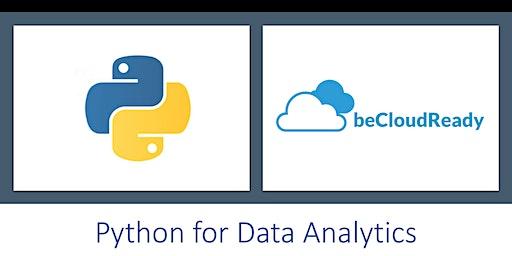 Data Analytics in Python: Scipy, Numpy, Pandas, Matplotlib (4 Hours Live Online,Weekends, 10 AM - 12 PM)-Charlottesville