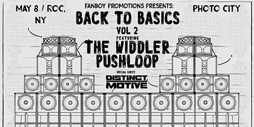 Back To Basics Vol. 2: The Widdler x Pushloop Special Guest Distinct Motive