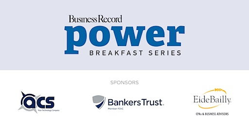 Power Breakfast: Business of Nonprofits & Corporate Giving