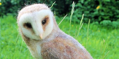 Majestic Barn Owl Needle Felting Workshop at Sculpture by the Lakes on the 26th & 27th September  2020 tickets