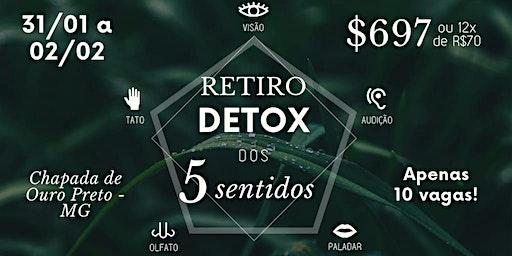 Retiro Detox dos 5 sentidos