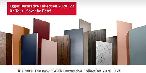 Egger Decorative Collection Tour 2020
