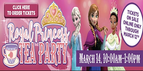 Royal Princess Tea Party McDonough tickets