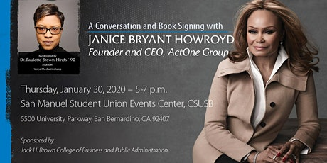 A Conversation and Book Signing with Janice Bryant Howroyd tickets