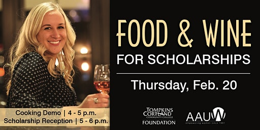 Food and Wine for Scholarships: Reception ONLY