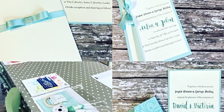 Wedding Stationery Basics and Modern Calligraphy in a day! tickets