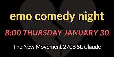 Emo Comedy Night tickets
