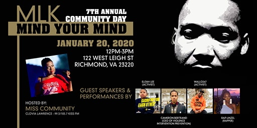 "7th Annual MLK Community Day ""Mind Your Mind"" With Miss Community Clovia"