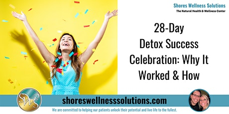 28-Day Detox Success Celebration: Why It Worked and How tickets