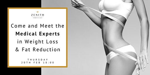 Come and Meet the Medical Experts in Weight Loss & Fat Reduction