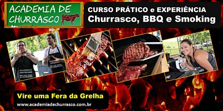 CURSO ACADEMIA DE CHURRASCO DOMINGO 26/JAN ingressos