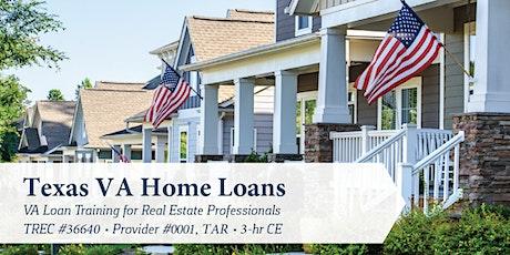 Texas VA Home Loans Class tickets