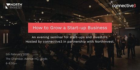 How to grow a start-up tickets