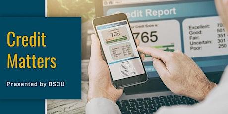 Credit Matters: Understanding your Credit tickets