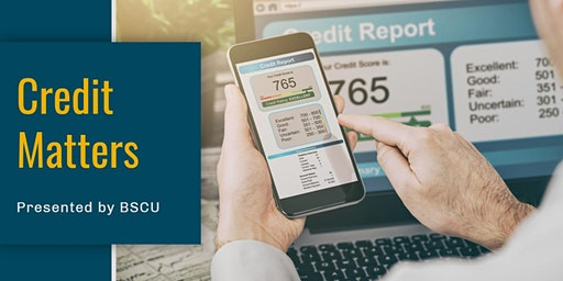 Credit Matters: Understanding your Credit