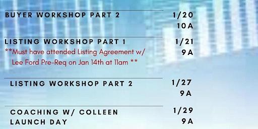 Listing Workshop Part 1: