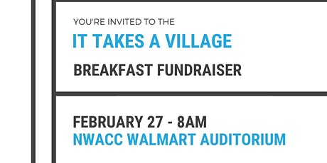 It Takes A Village Breakfast tickets