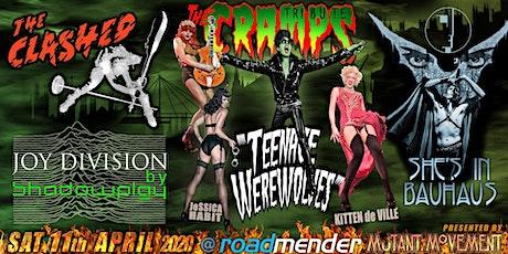 Teenage Werewolves(DoTheCramps)ShesInBauhaus/Clashed/Shadowplay NORTHAMPTON tickets