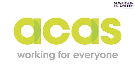 ACAS - Management Essentials, Norwich tickets