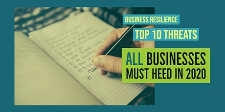 Business Resilience for 2020 tickets