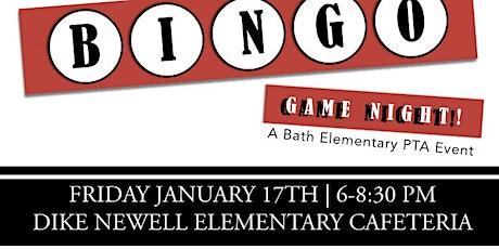 Bath Basket Bingo tickets