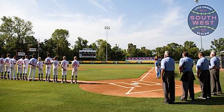 2020 Little League Southwest Region Umpire (Softball Regional & WS) tickets