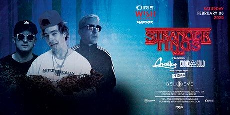 Stranger Tings Tour - Eddie Gold + Special Guest CHERDLEYS |  Wish Lounge @ IRIS | Saturday February 8 tickets