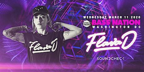 Bass Nation DC feat. Flava D tickets