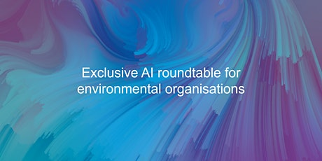 Exclusive AI roundtable for environmental organisations tickets