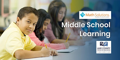Math Solutions: Middle School Learning tickets