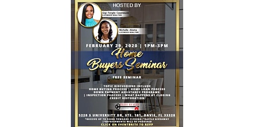 Are you interested in buying your FIRST home in 2020!? Come learn the steps you need to take NOW to prepare!