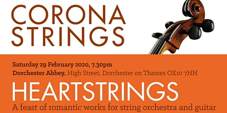 Corona Strings at Dorchester Abbey - HEARTSTRINGS tickets