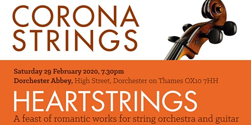 Corona Strings at Dorchester Abbey - HEARTSTRINGS