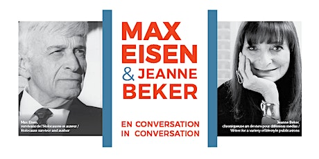 Max Eisen en conversation avec/in conversation with Jeanne Beker tickets