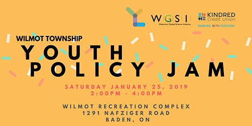 Youth Policy Jam: Wilmot Township