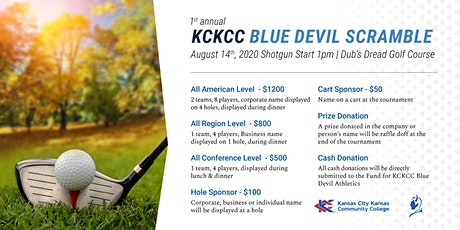 1st Annual KCKCC Blue Devil Scramble tickets
