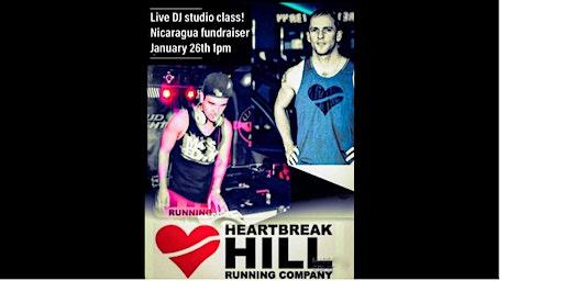 Live DJ! Treadmill class for Nicaragua