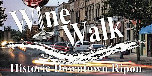 Downtown Ripon Spring WineWalk