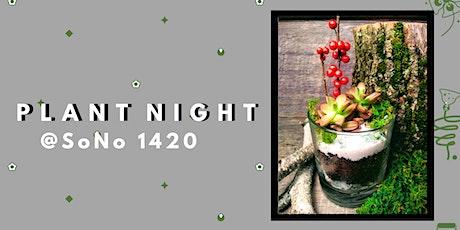 Create Your Own Rocks Glass Terrarium- PlantHer Plant Night @ SoNo 1420 tickets