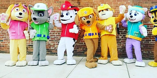 The Pups Return: Paw Patrol visits Mighty!