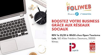 [Nîmes] Boostez votre business grâce aux réseaux sociaux billets