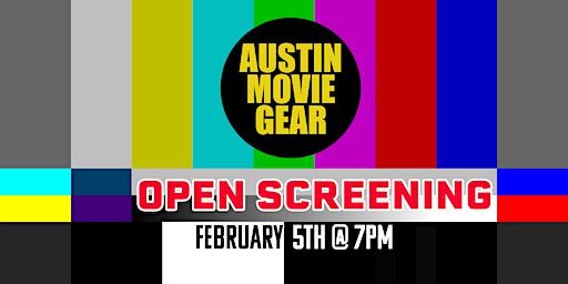 Filmmaker Open Screening + Mixer