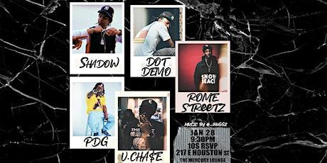 Shadow The Great, Vinny Cha$e, Rome Streetz, Dot Demo, Pharaoh da gawd tickets