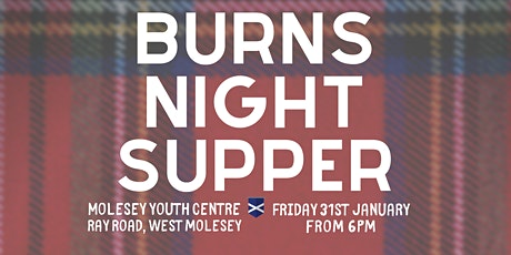 Family Burns Night Supper tickets