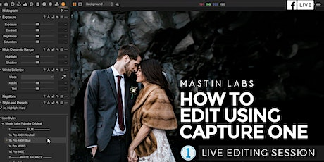 How to Edit Using Capture One tickets