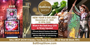 BALL DROP SHOW New Year's Eve 2021 - LIVE Ball Drop...
